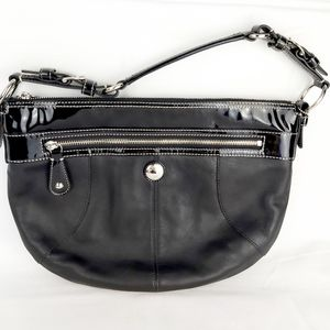 Coach purse leather bag black
